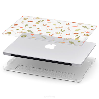 Clear Delicate Leaves MacBook Case - Supply Square