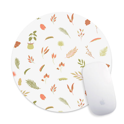 Delicate Leaves Mouse Pad - Supply Square