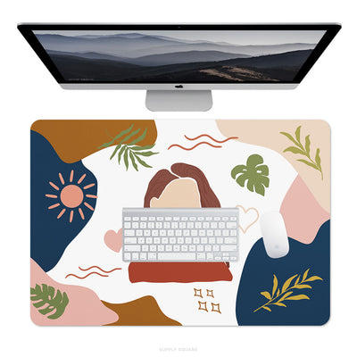 Modern Abstract Desk Mat - Supply Square