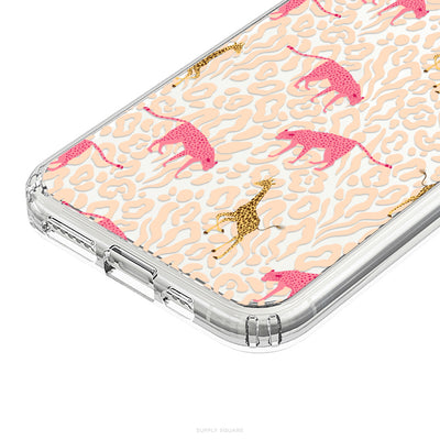 Clear Pastel Safari iPhone Case - Supply Square