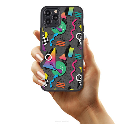 Retro Radical Vegan Leather iPhone Case - Supply Square