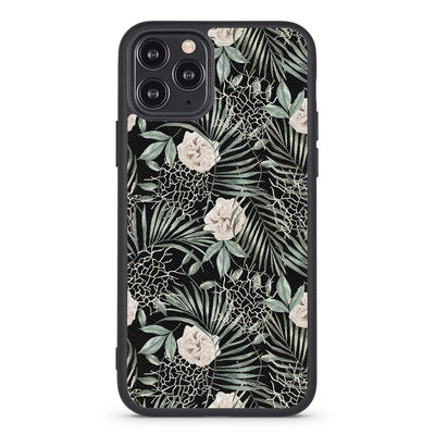 Rustic Leaves Vegan Leather iPhone Case - Supply Square