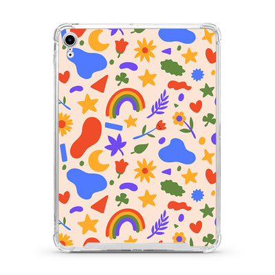 Cute Summer Shapes iPad Case - Supply Square