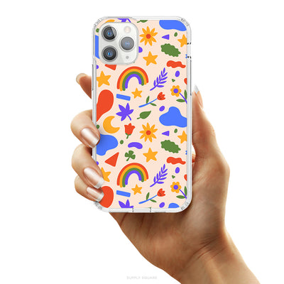 Cute Summer Shapes iPhone Case - Supply Square