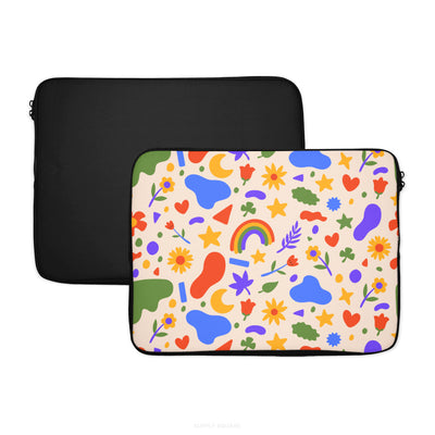 Cute Summer Shapes Laptop Sleeve - Supply Square