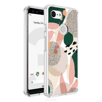 Pink And Green Abstract Pixel Case - Supply Square