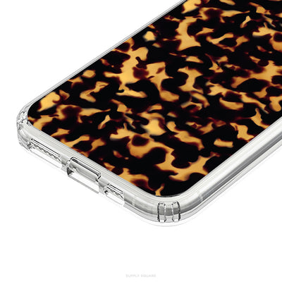Tortoise Shell Print iPhone Case - Supply Square