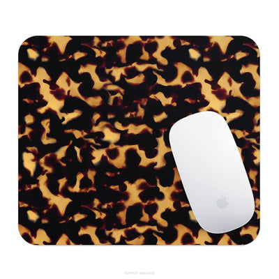 Tortoise Shell Print Mouse Pad - Supply Square