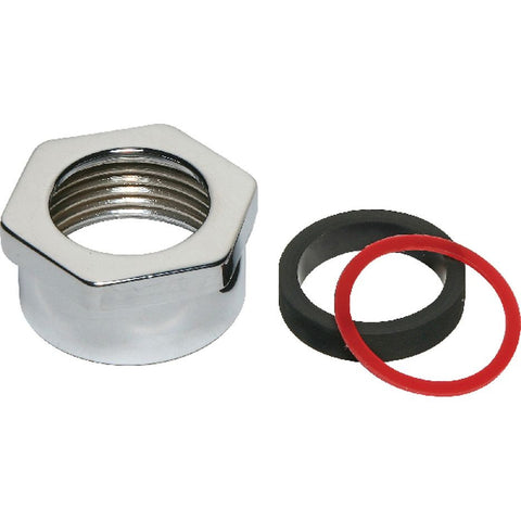 "Part# F-20-A (0306516) Spud Coupling Nut 3/4"" CP"