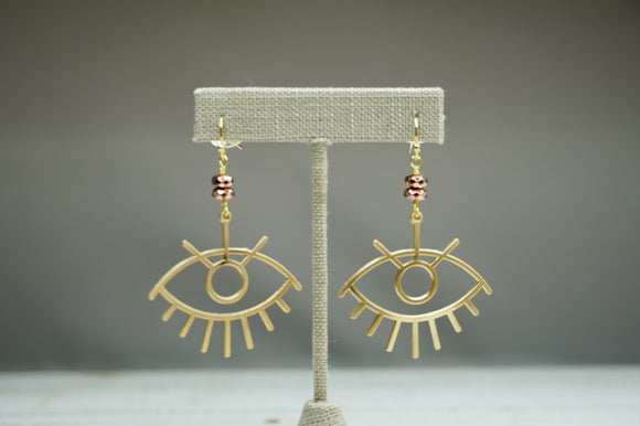 Selena Evil Eye Earrings