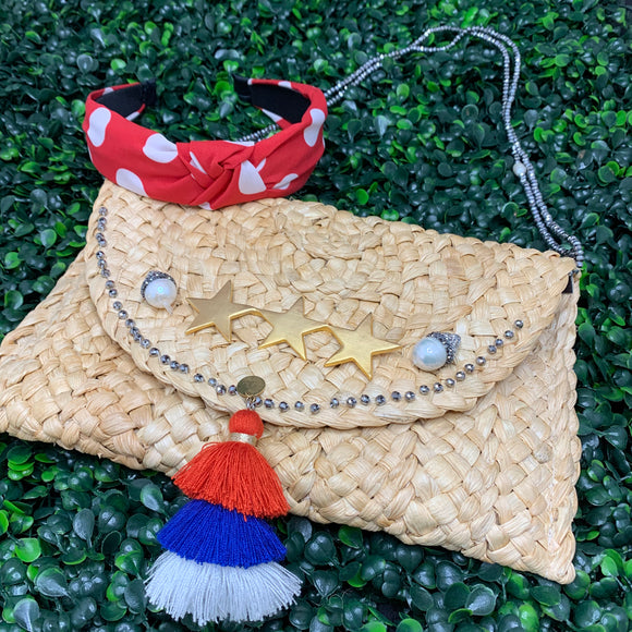Red White and Blue - Clutch Purse