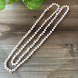 Custom White Potato Pearl strand