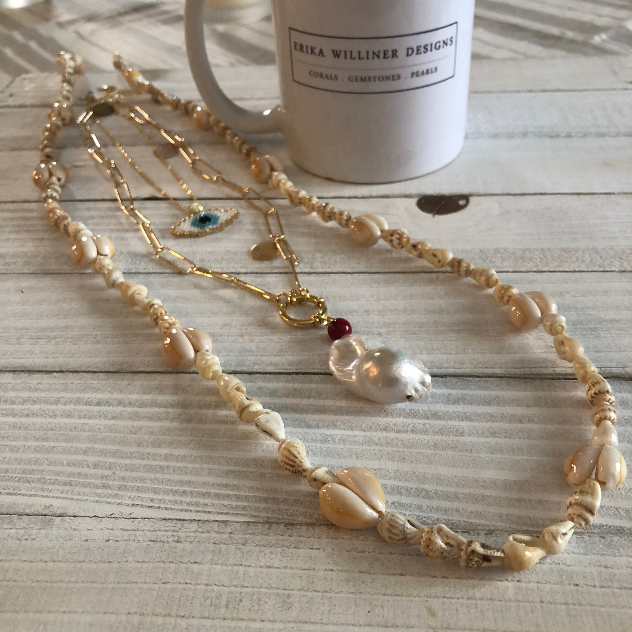 Long Shells Necklace