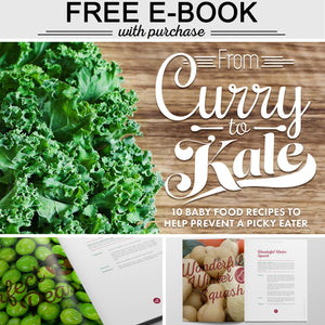 From Curry to Kale: 10 Baby Food Recipes to Help Prevent a Picky Eater
