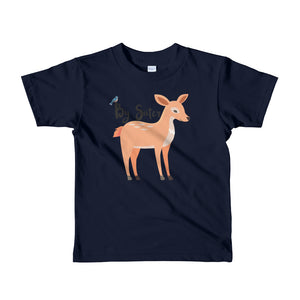 Big Sister T-Shirt | Short Sleeve | Woodland Deer