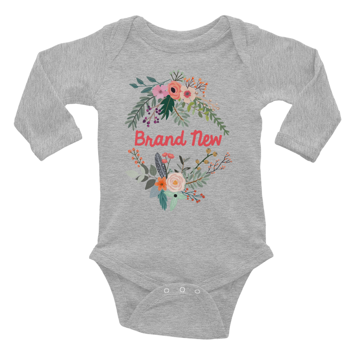 BRAND NEW ONESIE | LONG SLEEVE | BOHO FLORALS