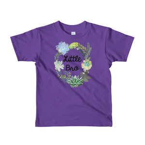 Little Brother T-Shirt | Short Sleeve | Succulent Collection