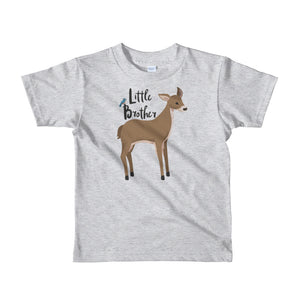 Little Brother T-Shirt | Short Sleeve | Woodland Deer