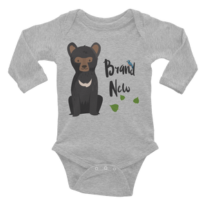 BRAND NEW ONESIE | LONG SLEEVE | BABY BEAR