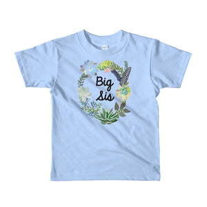 Big Sister T-Shirt | Short Sleeve | Succulent Collection