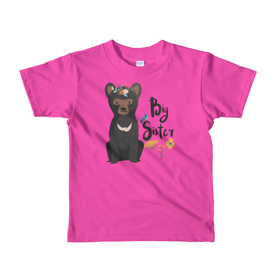 Big Sister T-Shirt | Short Sleeve | Little Bear