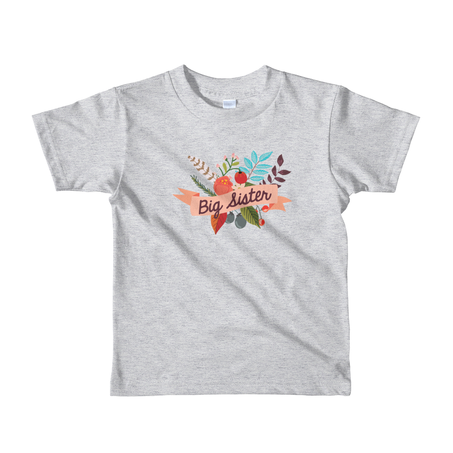 BIG SISTER T-SHIRT | SHORT SLEEVE | BOHO FLORALS
