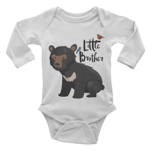 Little Brother Onesie | Long Sleeve | Little Bear