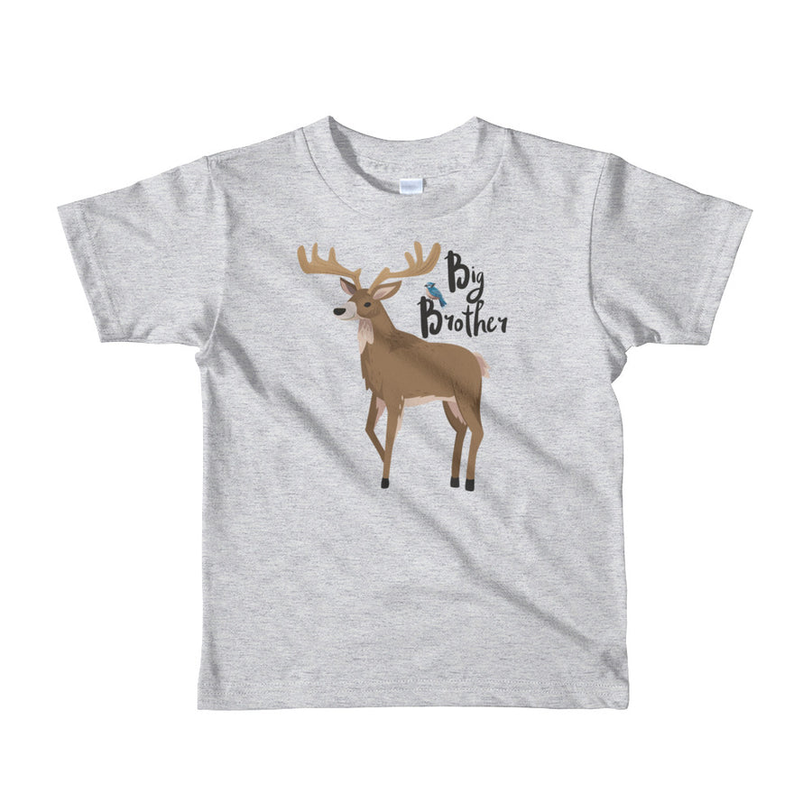 Big Brother T-Shirt | Short Sleeve | Woodland Deer