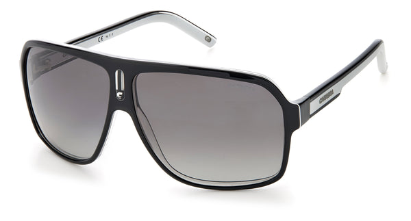 CARRERA 27 80S BLACK WHITE/GREY POLAR