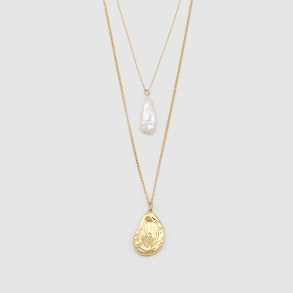PEARL TEARDROP NECKLACE
