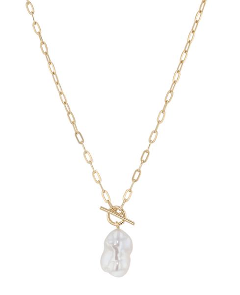 MARGRIET SSN045G PEARL NECKLACE
