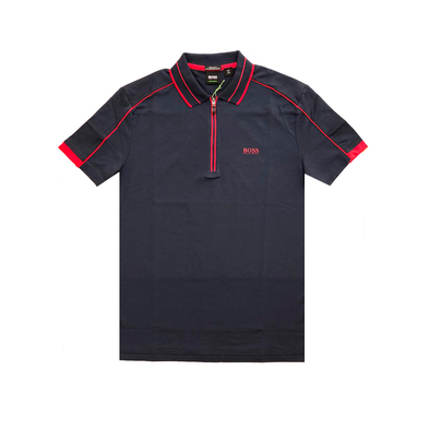 Hugo boss - Repellent polo slimfit AZUL - High Life
