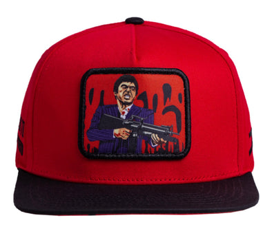 JC HATS -  Little Friend Red - High Life