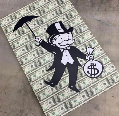 Arte - Monopoly Fly 60x90 - High Life