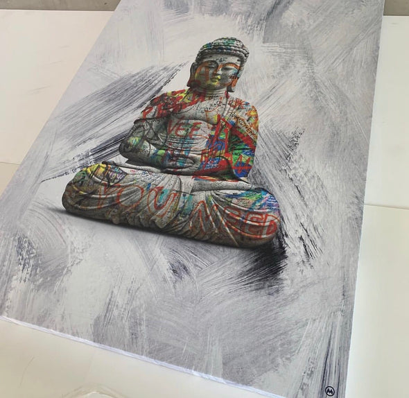 Arte - Grafitti Buddha - High Life