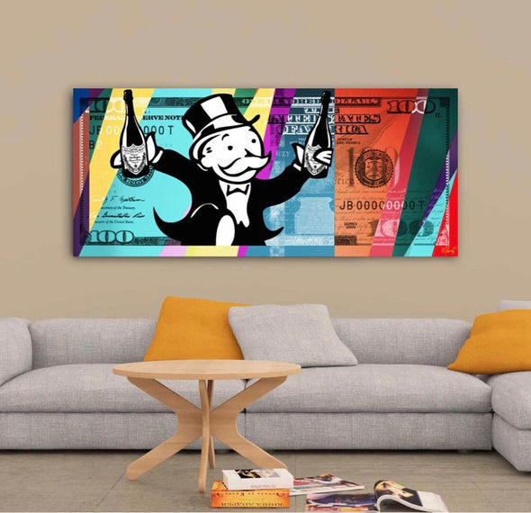 Arte - Harlequin Monopoly 152x66 - High Life