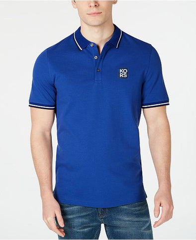 Michael  Kors - polo pique azul - High Life