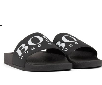 Hugo boss - Sandals Negras - High Life