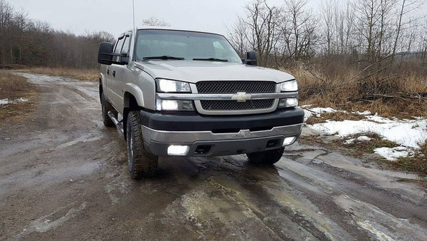 2003-2007 Silverado/Sierra Classic Headlight and Fog Kit