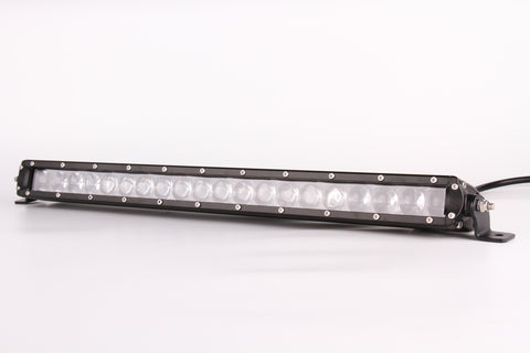 "13.3"" Single Row 4D Lens Osram LED Bar (SLIM)"