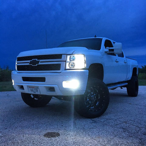 2007-2014 Silverado/Sierra Headlight & Foglight Kit