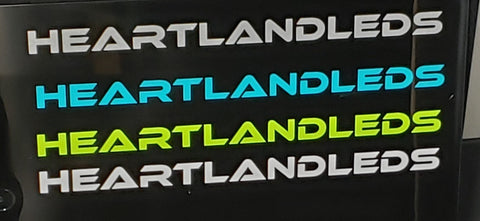 "10"" HeartlandLEDs Decal"