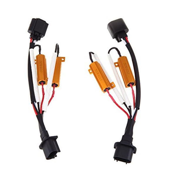 H13 Plug-N-Play Resistor Harness - 1 Pair