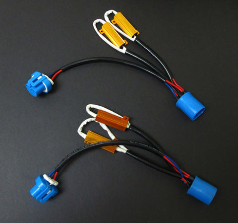 9007 Plug-N-Play Resistor Harness - 1 Pair