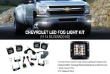 11-14 Chevrolet 2500HD/3500HD Cube Fog Light Kit