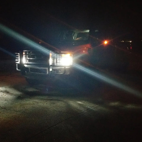 2005-2016 Ford Super Duty LED Headlight/Fogs Kit