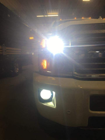 2015+ Chevrolet Silverado High / Fogs (w/ Factory Low HIDs)