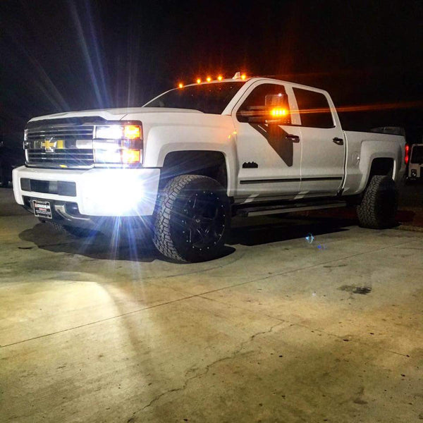 2015 19 Chevrolet Silverado Led Headlight Foglight Kit