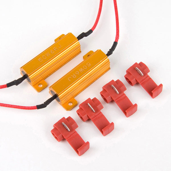 1 Pair 50W 6-Ohm Splice Resistors
