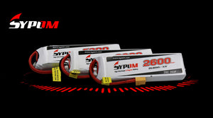Sypom Lipo Batteries for your RC Models, Planes, Cars, Drones and FPV.